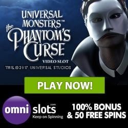 Omni Slots Casino - play for jackpots with 70 free spins & 500€ bonus