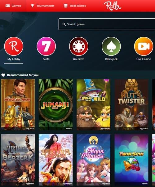 Rolla.com Casino Review