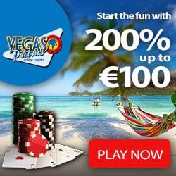 Vegas Palms Casino 100 free spins & 200% free bonus - Exclusive Offer