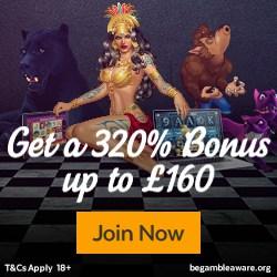 32Red Casino $10 free chips + 320% up to $160 free bonus money