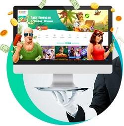 Spinia Casino (Spinia.com) 125 gratis spins + €1250 free bonus money