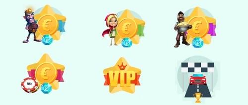 Spinia Casino bonus and promotion