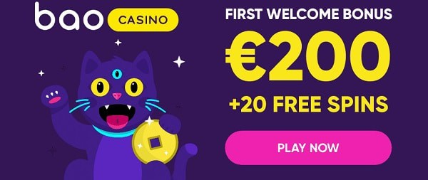 First deposit bonus: 100% up to 200 EUR or 1 BTC and 20 free spins