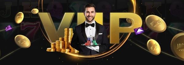 VIP rewards at Jackpot Village