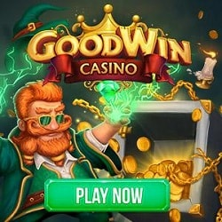 Goodwin Casino 20 free spins bonus after mobile verification