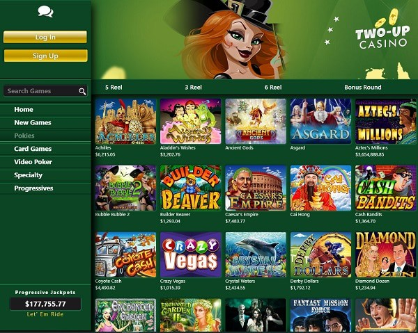 Review, Rating, Recommendation for TwoUP Casino