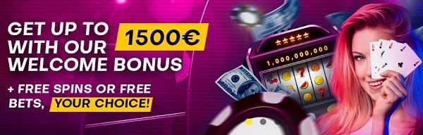 Bettilt Casino 1500 EUR and 100 gratis spins or 60 eur free bets