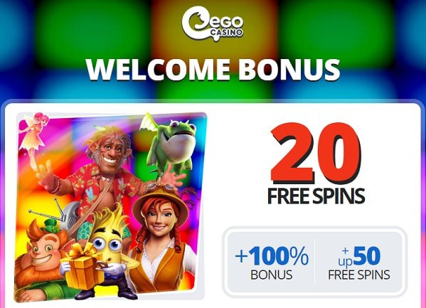 Collect your 20 free spins bonus now!