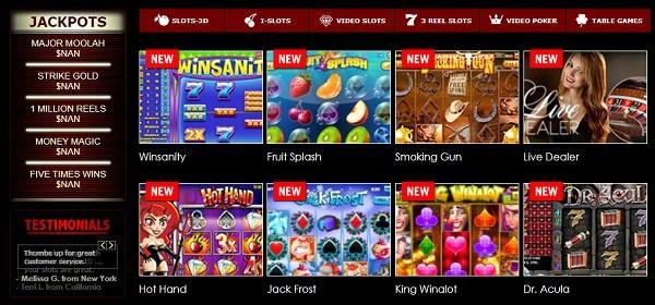 Superior Casino free spins bonus codes