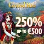 GrandRio Casino €500 bonus and 25 free spins on Netent