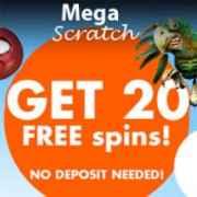 MegaScratch Casino free spins