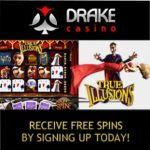 Drake Casino Review – 100 free spins & $500 bonus – online & mobile
