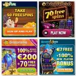 €26 gratis free bonus - Gratorama, Winorama, Winspark, Scratch Mania