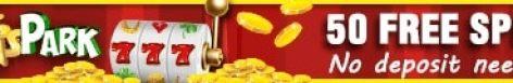 WinsPark Casino - 50 free spins or $5 gratis no deposit bonus