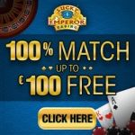 Lucky Emperor Casino – 100 free spins and €100 match bonus