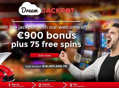 Dream Jackpot Casino Review & Rating