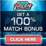 Virtual City Casino 100 free spins + 500% up to $500 free bonus