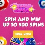 Zingo Bingo Casino – 500 free spins & £750 free bonus every week