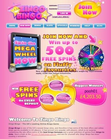 Zingo Bingo UK Casino Review