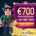 FANTASINO | 20 gratis spins NDB   140 free spins   €700 free bonus