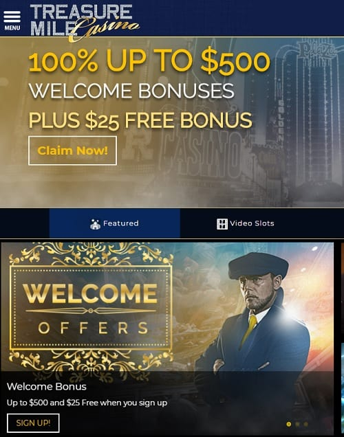Treasure Mile Online Casino Review