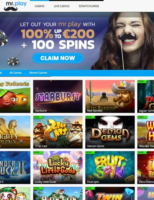 Mr.Play Casino Online
