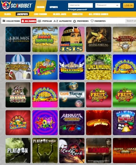 Scandi Bet Casino gratis spins