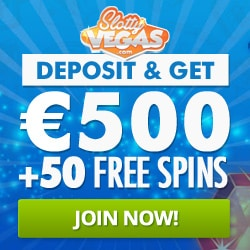 Slotty Vegas Casino - play HD slots and get bonuses with extra free spins!