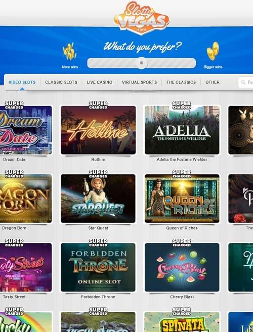 SlottyVegas.com Casino Online