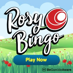 Rosy Bingo Casino 67 free spins + 300% up to £100 welcome bonus