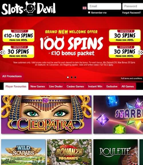 Slots Devil Casino Free Bonus