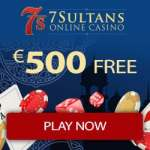 7Sultans Casino 100 free spins bonus on Wheel of Wishes