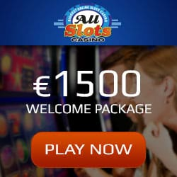 All Slots Casino 100 free spins + €1500 bonus | Netent & Microgaming