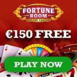 Fortune Room Casino 150% bonus up to €150 + 100 free play spins