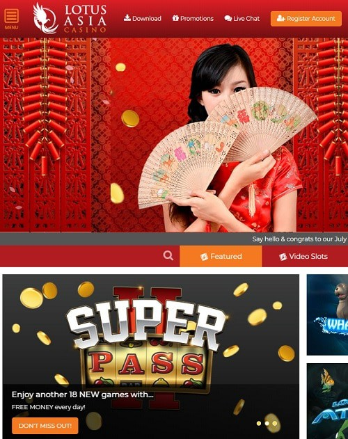 Lotus Asia Online Casino