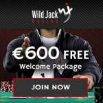Wild Jack Casino - €600 exclusive welcome bonus and 100 free spins