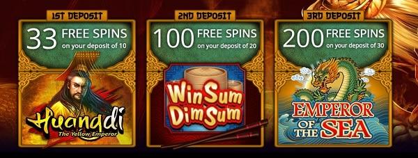 Jackpot City Casino 333 free spins welcome bonus