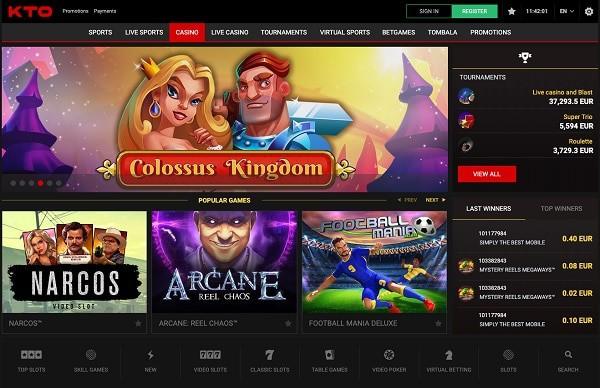 Kto.com Casino Review