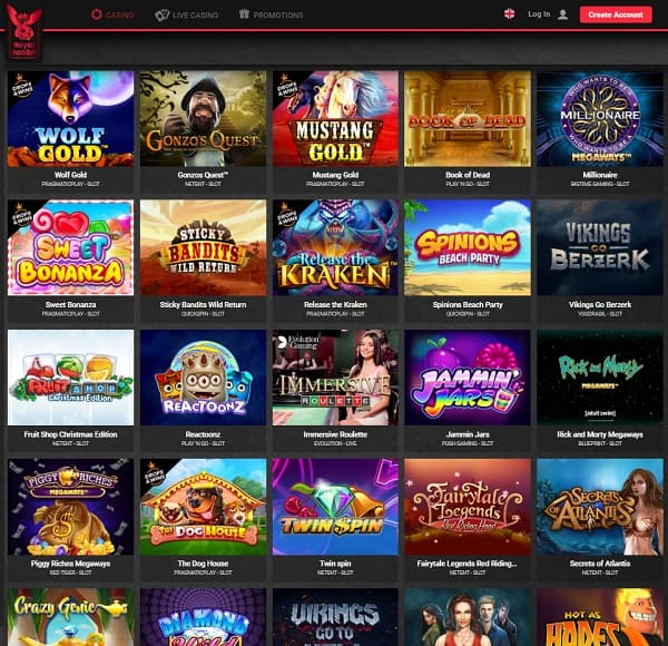 Royal Rabbit Casino 250 free spins and 100% welcome bonus