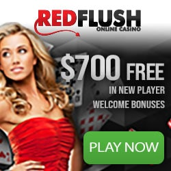 Red Flush Casino [review] 50 free spins plus €700 instant bonus
