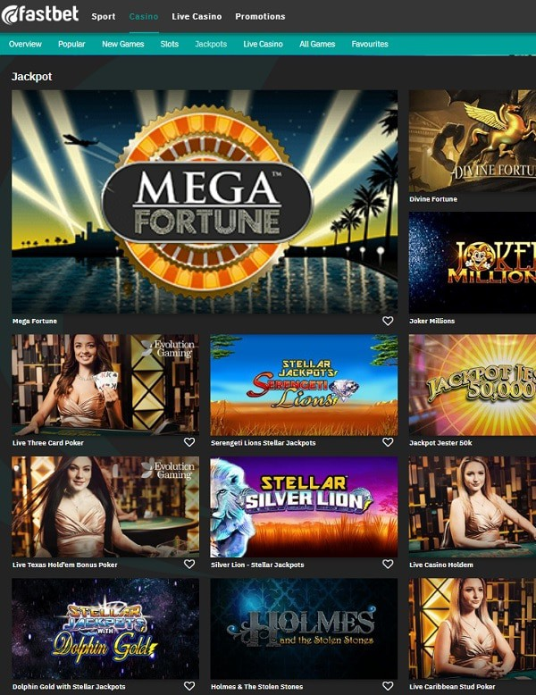 FastBet Casino - the best casino in Sweden, Finland and Germany