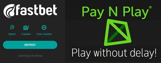 FastBet Casino Pay N Play Trustly free bonus