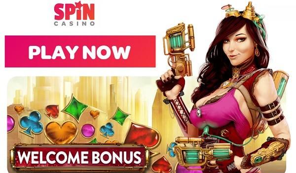 Spin Casino free spins bonus