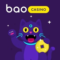 Bao Casino 100% bonus (€200 or 0.5 BTC) and 20 free spins