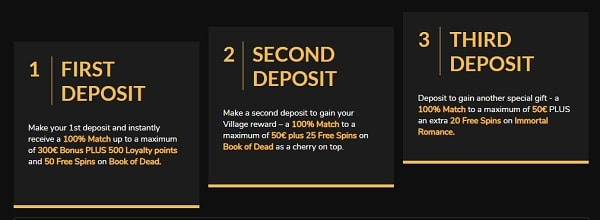 Jackpot Village Casino Welcome Offer