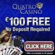 Quatro Casino free bonus