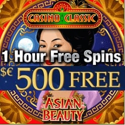 Casino Classic | $€£ 500 free spins no deposit bonus - play for free!