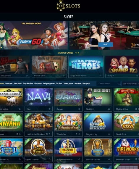 1xslots.com Casino Review