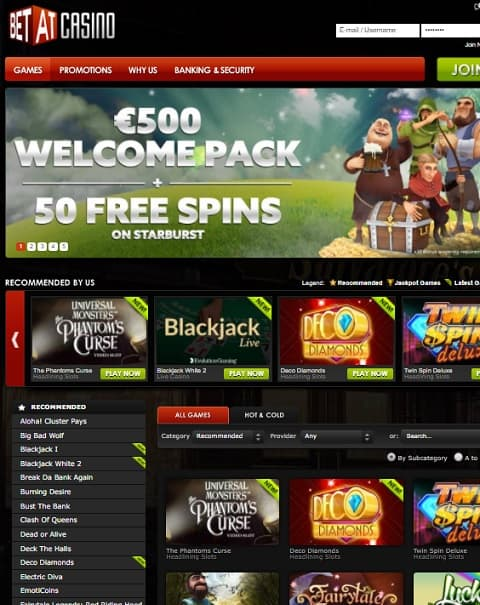 Betat Casino free play bonus