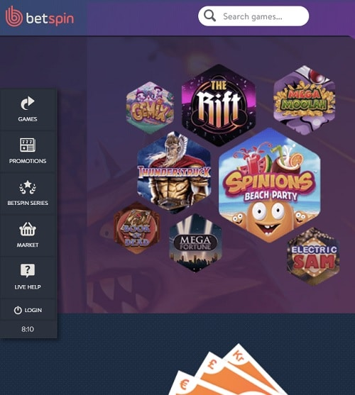 Bet Spin Casino Review